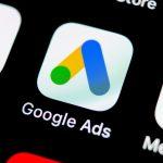imagem mostrando símbolo do google ads