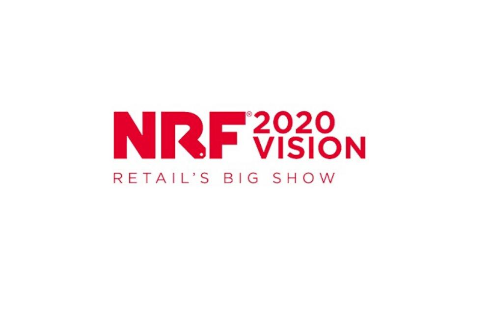 Imagem do logo da NRF 2020 Vision